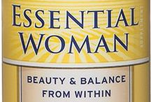 Barlean's Essential Woman / Barlean's Essential Woman is designed for women interested in radiant health, hormonal harmony, beauty and energy. Available in 12 oz. oil, 60 ct. and 120 ct. softgels and as part of the Essential Woman Chocolate Mint Swirl available in both 8 oz. and 16 oz. bottles. Prices start at $16.12 Available for purchase online at http://www.barleans.com