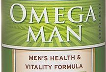 Barlean's Omega Man / Omega Man Vitality Blend is a proprietary formula that combines pure and fresh lignan flax oil, rare Styrian pumpkin seed oil, phospholipid and phytosterol complexes. Available in 12 oz. liquid and 120 ct. softgels. Available for purchase online at http://www.barleans.com