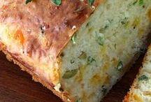 Breads-Biscuits-Muffins Bonanza / Recipes for breads, biscuits, muffins and other yeast recipes.