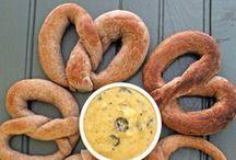 Pretty Pretzels / Soft pretzel recipes.