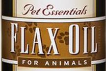 Barlean's Pet Essentials Flax Oil for Animals / Barlean's Pet Essentials Flax Oil for Animals. Available in a 12 oz. bottle. Available for purchase online at http://www.barleans.com.  Omega-3s for your pets!