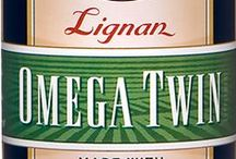 Barlean's Omega Twin / Available with or without Lignan, Barlean's Omega Twin provides the same complete Omega 3-6-9 essential fatty acid nutrition as the basic Omega Twin formula, but with Lignan flaxseed particulate retained in the oil for its unique nutritive value. Available in a 12 oz. liquid with or without Lignan, and 60 ct. softgel with or without Lignan at www.barleans.com