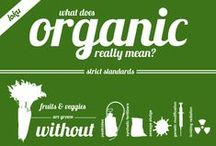 Organic Matters / Whether or not your food is organic matters.