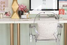 Workspaces / home office / Office and workspace inspiration / by Eva Parisianstyle.nl