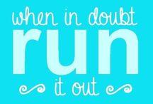 Run, run, run, run, run away!