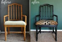 Great Furniture Redos / A selection of awesome furniture makeovers, redos, and redesigns!