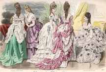 Fashion - 1870s-1890s  / Mid- to Late-Victorian / The Age of the Bustle