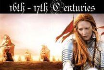 History on Screen - 16th - 17th Centuries / The Tudor, Renaisance, and Baroque eras.