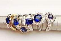 Natural Sapphires / A selection of sapphires hand picked by master jeweller Chris Hood
