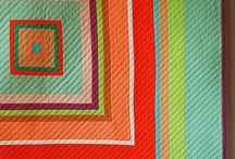 Stitches: Modern Quilts / Modern Quilts, fabric, and inspiration photos
