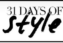 31 Days of Holiday Style  / A new look every day in December!