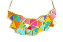 Jewelry from Textiles / Jewelry from textiles is made with fabric, leather, lace, or fibers