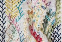 Stitches: Embroidery / Embroidery stitches, examples, and tutorials