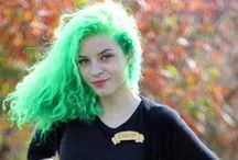 hairspiration / mostly dye/cut type stuff / by Zelie Thornborough