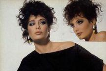 1980s looks / blush, blush, blush / by Zelie Thornborough