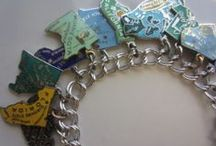 Charm Bracelets - States and Countries