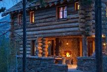 Architecture - Log Cabin/Rustic Living