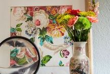 Found: Decorating with Vintage and Thrifted Finds / All of the best thrift store and vintage finds and treasures!