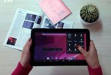 Tablet Primux Up azul / Buscamos mejorar contigo y por eso te traemos más con la nueva tablet Up.