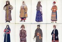 Fashion - Traditional Ethnic Costume / Traditional ethnic costume from around the world and throughout time.