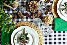 table settings / table settings, home decor, tabletops, table settings, table scape, holiday tables, inspiration, easter table, valentines table, spring table settings, plaid tables,