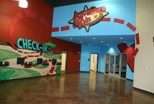 Church Themed Environments / Worlds of Wow creates ridiculously cool, fun kids spaces at church. We use kids ministry themes and indoor playgrounds to get kids to drag their parents to church.