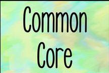 Common Core / Common core resources for educators.