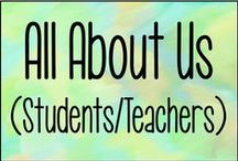 All About Us (Students & Teachers) / BTS activities/ideas for students and teachers! Forms included.