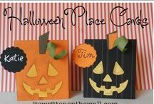 Halloween-juhlat ja -askarteluideat / Decoration for Halloween Party