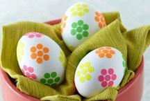 Keväiset pääsiäiskoristeet / Easter decorating
