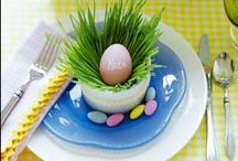 Pääsiäisen keväiset kattausideat