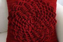 Crochet cushions & pillows
