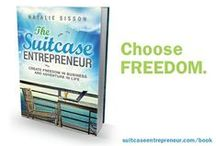 No #1 Bestselling Book / In August 2013 I published The Suitcase Entrepreneur to show you how to create freedom in business and adventure in life and it shot to the No #1 Bestseller status on Amazon in Business and later in Travel. It's changing people's lives so I'd love for you to grab a copy and choose freedom.