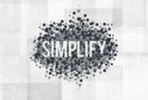 minimalism & simplicity / by nienkewitteveen.nl