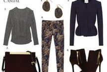 fall style / by Wesley Pomatto