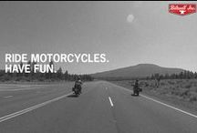 RMHF Billboards / These are corny inspirational photos that we think summarize our inspiration: Ride Motorcycles. Have Fun. Simple as that, really. Each is either a photo we took ourselves, or given to us by a friend.