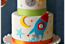 To the Moon...Space Birthday Party