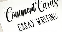 Essay Mini-lessons for Middle School and High School English / This board offers English teachers handouts, strategies, and guides for essay writing.  These resources break down the writing process into manageable components for all levels of students!  Please email me if you would like to contribute to this board, please join the Secondary English Teachers Facebook group and PM Meredith from Bespoke ELA.