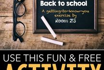 Back to School Icebreakers for Teachers / These icebreaker activities will help any teacher get the year started right!  If you would like to contribute to this board, please contact me at:  meredithdobbs@gmail.com.