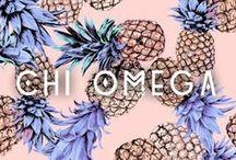 • chi-omega • / chi-o, sorority life and owls