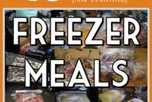 Freezer Meals/Crockpot Meals / Freezer Meals, Meal Planning, Crockpot/Slowcooker Meals