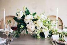 Flowers: WHITES/GREENS/NEUTRALS