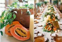 Wedding Inspiration: Tablescapes & Garlands