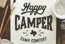 A Camp Wedding / Camping in style!