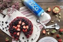 Made With ZICO / Stay happy, healthy and hydrated with these yummy recipes #MadeWithZICO. Sip up + #CrackLifeOpen!