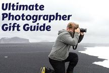 Photographer Gift Guide / We have the perfect camera for the photographer in your life. Get them a point and shoot if they're new to cameras, or a sleek DSLR for the amateur ready to go pro.