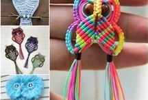 Macrame With Beads / Marvellous macrame but with the added benefit of beads!