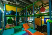 Norwich YMCA Playground / This is a crazy fun Indoor Playground that was custom designed & built by Worlds of Wow.