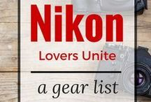 Nikon Love / For all of our Nikon lovers - tips,tricks techniques, news, and resources on all your favorite Nikon gear!
