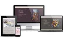 WEB DESIGN & DEVELOPMENT – Emerald Seven: Portfolio / Enjoy a sampling of our digital work, including web design and web development from international brand launches to personal portfolios. Visit emeraldseven.com for more images, details, and design process!